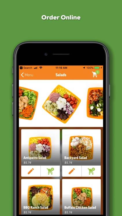 Salad and Go Ordering App screenshot-4