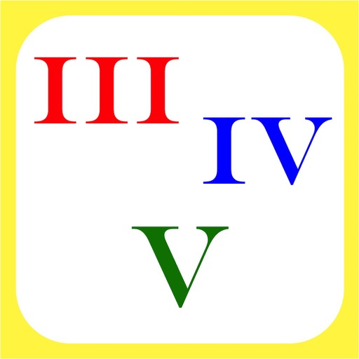 another Roman Numerals icon