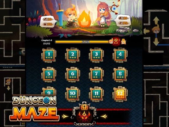 Dungeon Maze.io screenshot 12