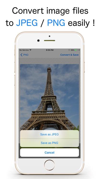 JPEG-PNG Image file converter