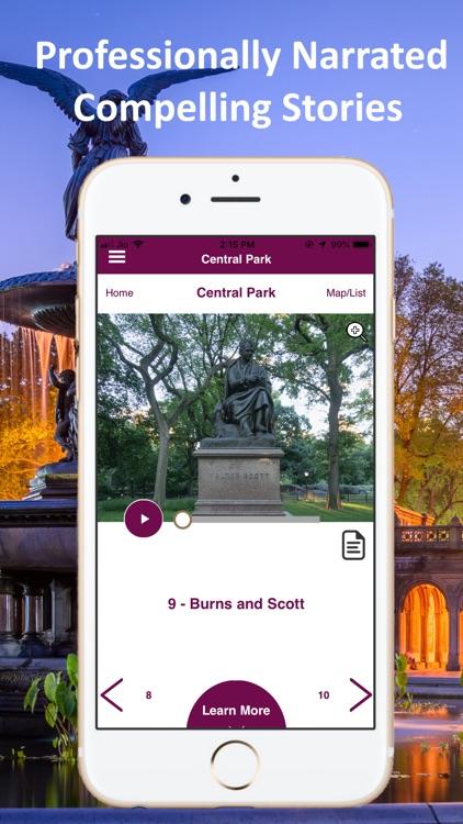 Central Park New York Guide screenshot-4