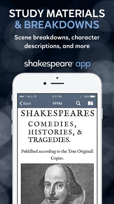Shakespeare screenshot two
