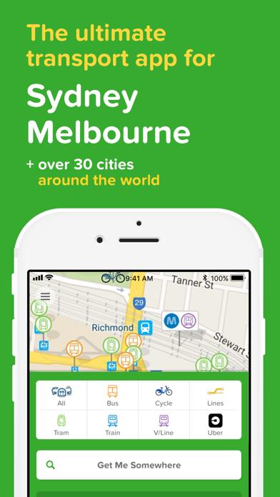 Screenshot for Citymapper - Live transport in Australia App Store