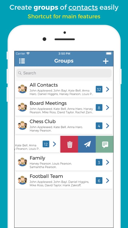 Groups - Group Text