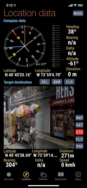 ‎Quickgets Geo: geodata widgets Screenshot