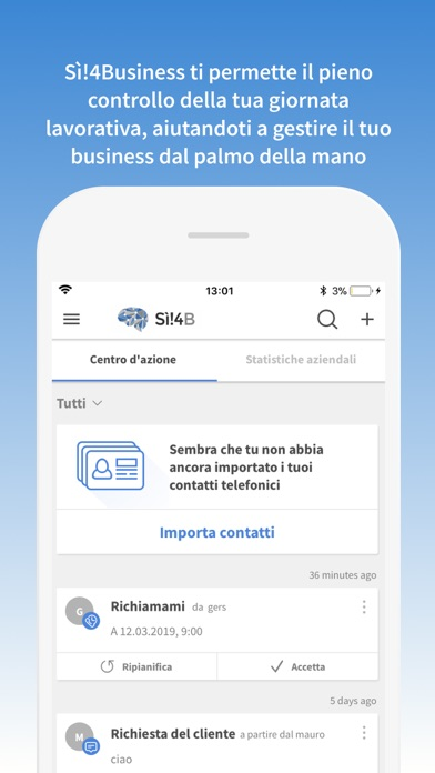 Screenshot of Sì!4Business1