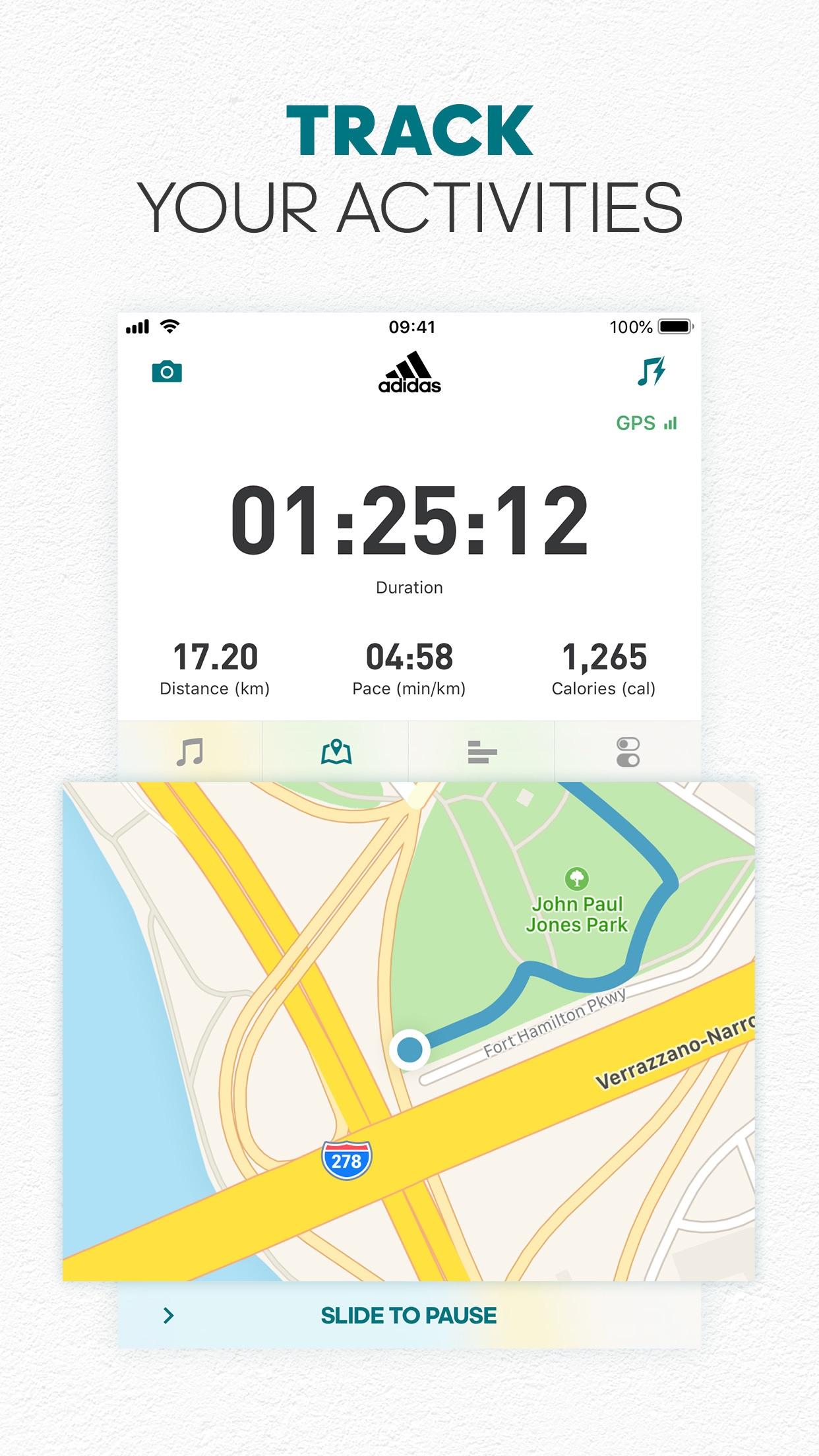 adidas Running by Runtastic Screenshot