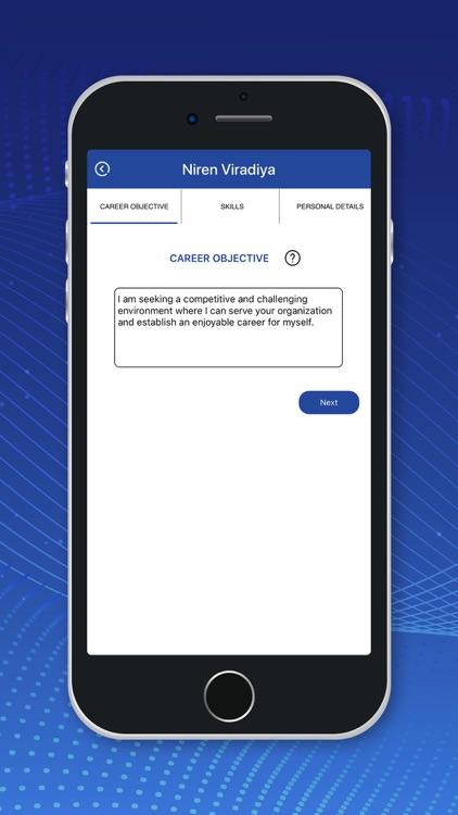 CV Generator! screenshot-3