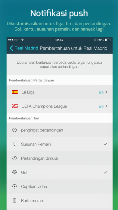 Screenshot for Forza Football in Indonesia App Store