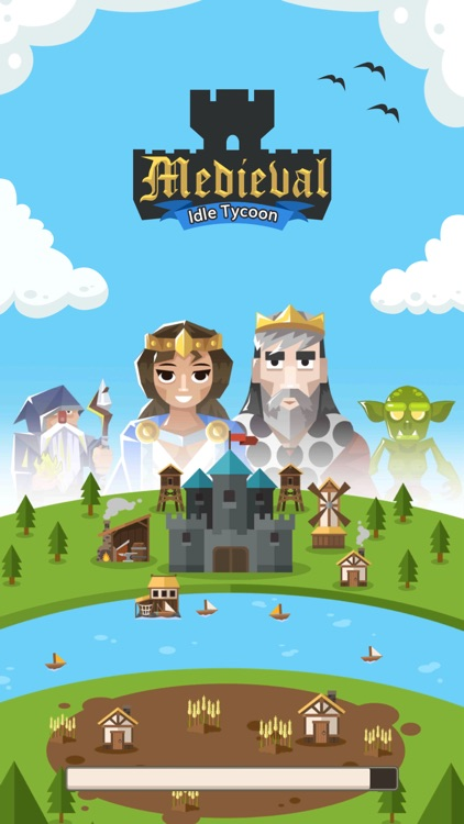 Medieval: Idle Tycoon Clicker screenshot-0