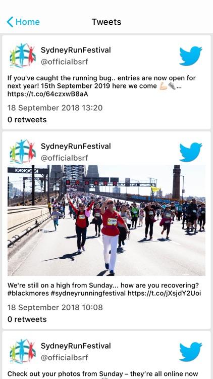 Sydney Running Festival screenshot-3