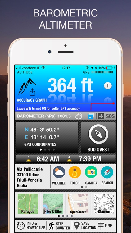 Altimeter GPS PRO screenshot-0