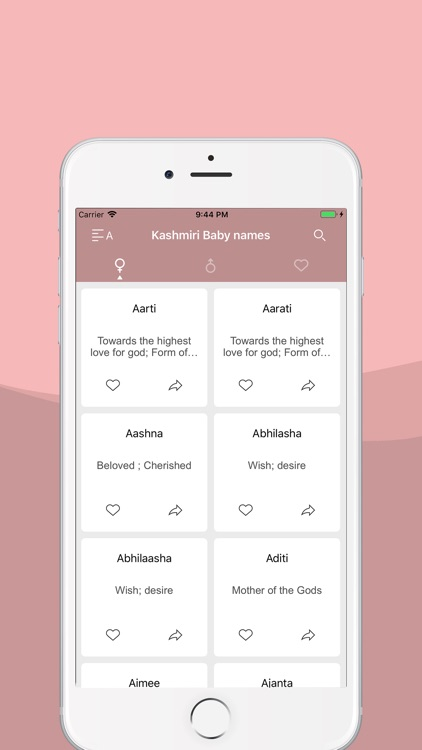 Kashmiri Baby names