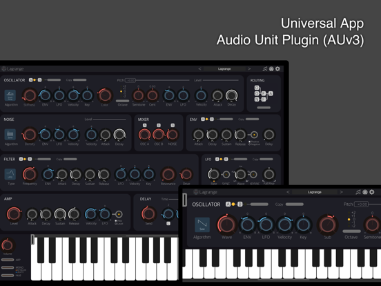 Lagrange Synthesizer by iceGear Instruments | discchord