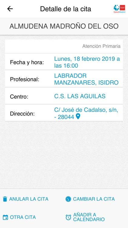 Cita Sanitaria Madrid screenshot-3