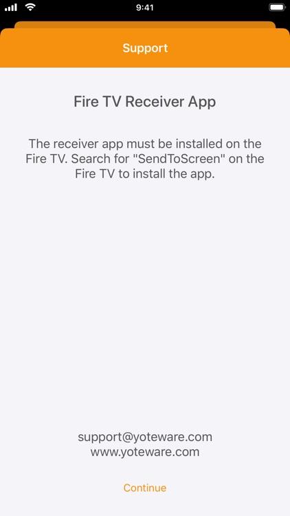SendToScreen for Fire TV screenshot-3