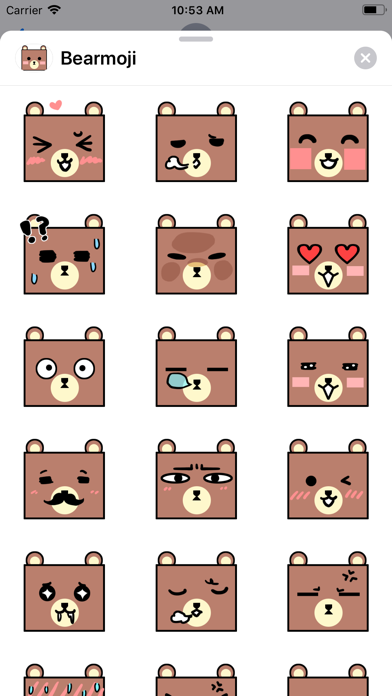 Bearmoji's screenshot 1