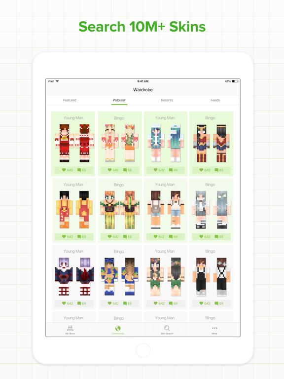 Skinseed for Minecraft Skins by Jason Taylor (iOS, United