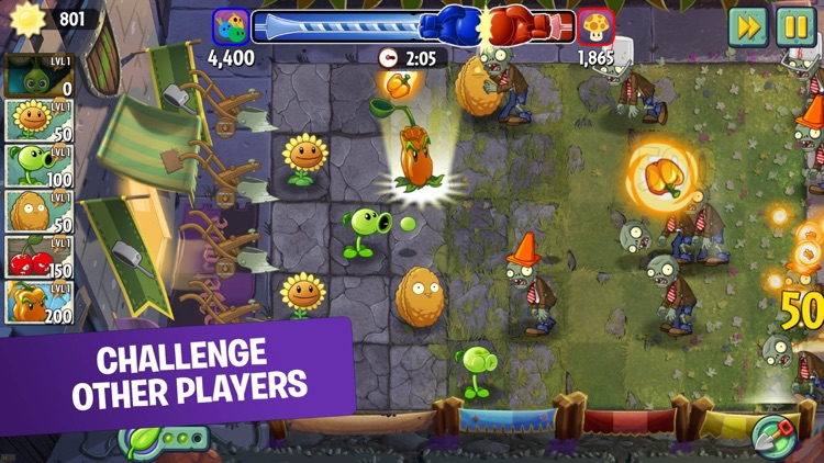 Plants vs. Zombies™ 2 screenshot-3