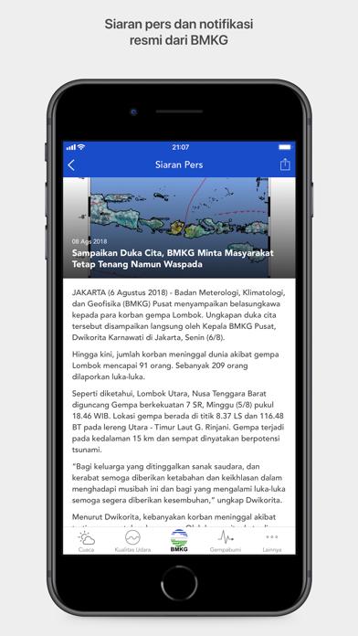 messages.download Info BMKG software