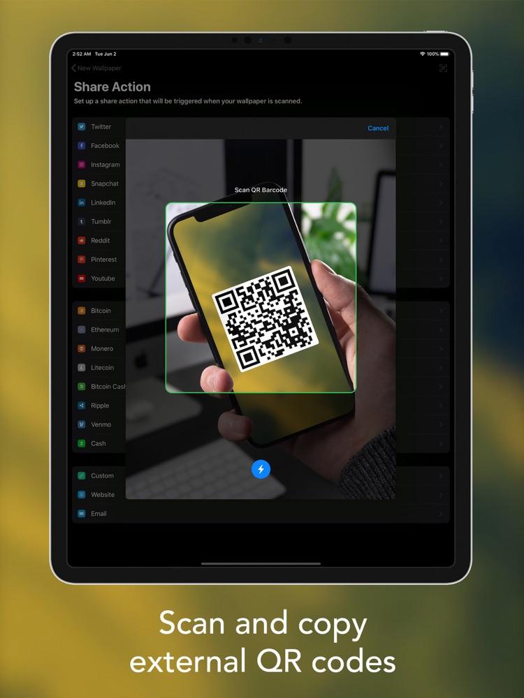 InstaQR - Live Wallpaper Maker App for iPhone - Free ...