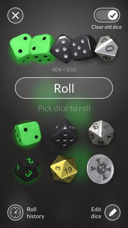 Dice Bag - 3D dice screenshot-4
