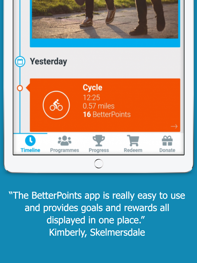BetterPoints Screenshot