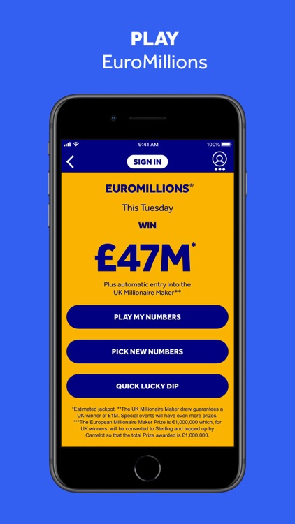 The National Lottery: Official screenshot-4