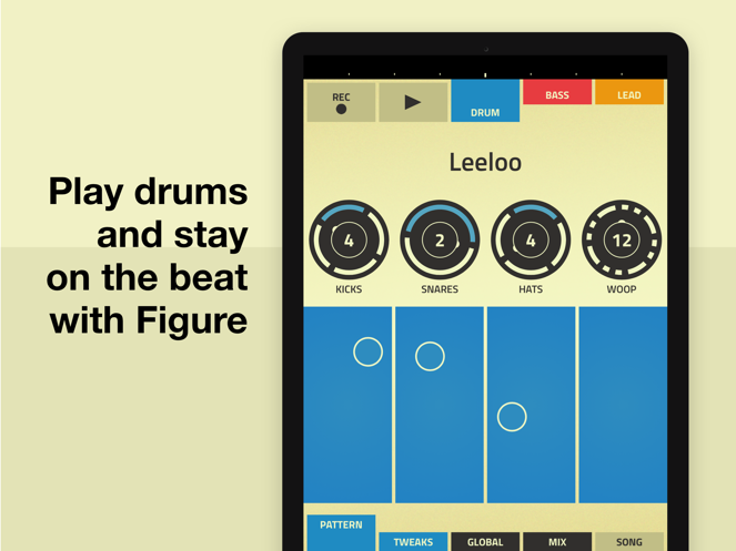 Figure - 创作音乐和节奏-1