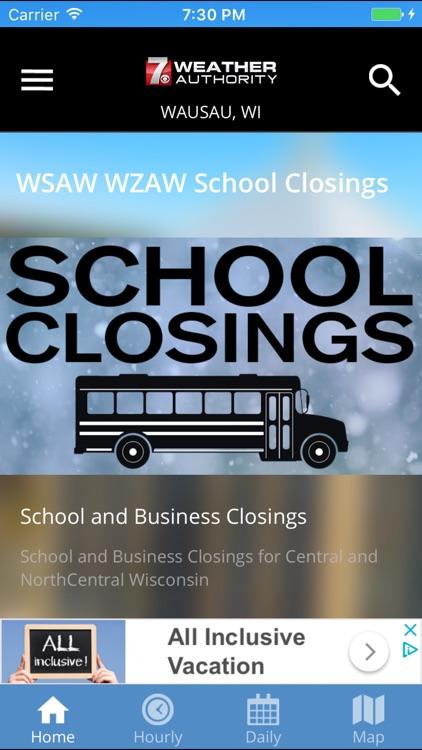 WSAW WZAW Weather Authority screenshot-4