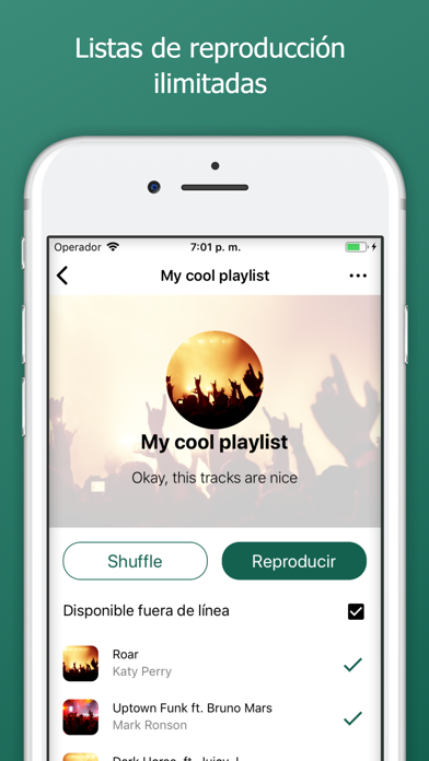 Screenshot for eSound Music in Chile App Store