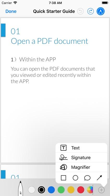 PDF Reader - Edit And Manage screenshot-7