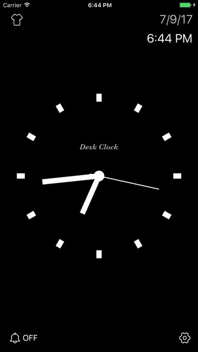 Herunterladen Desk Clock - Analoge Uhr für Pc