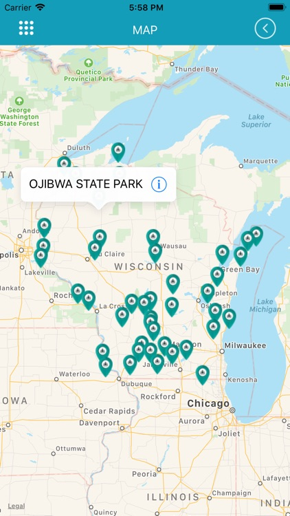 Wisconsin State Parks- screenshot-3