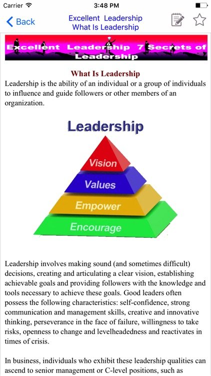 Leadership Excellent screenshot-2