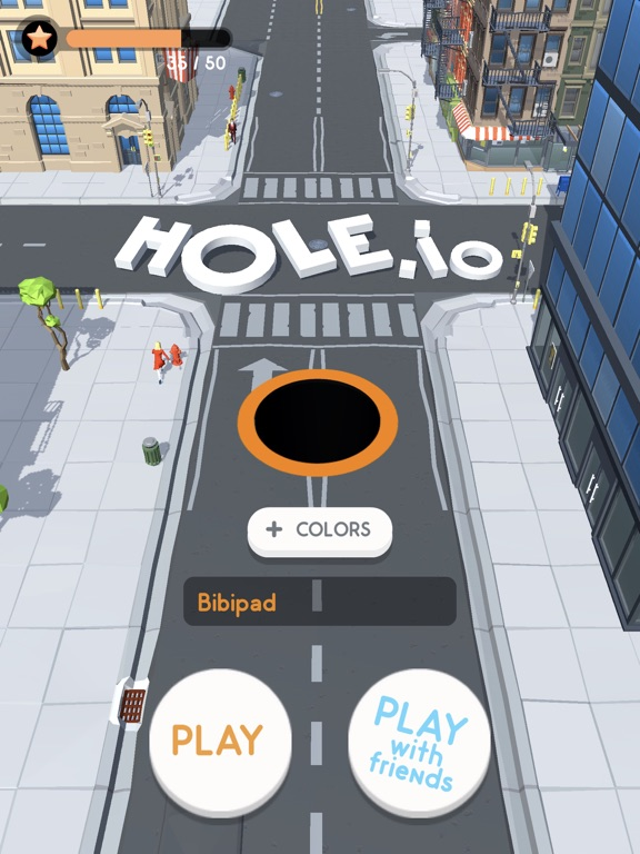 iPad Image of Hole.io