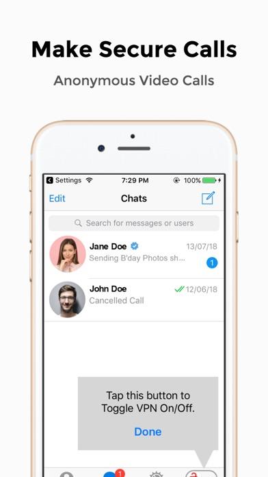 다운로드 Messenger VPN Android 용