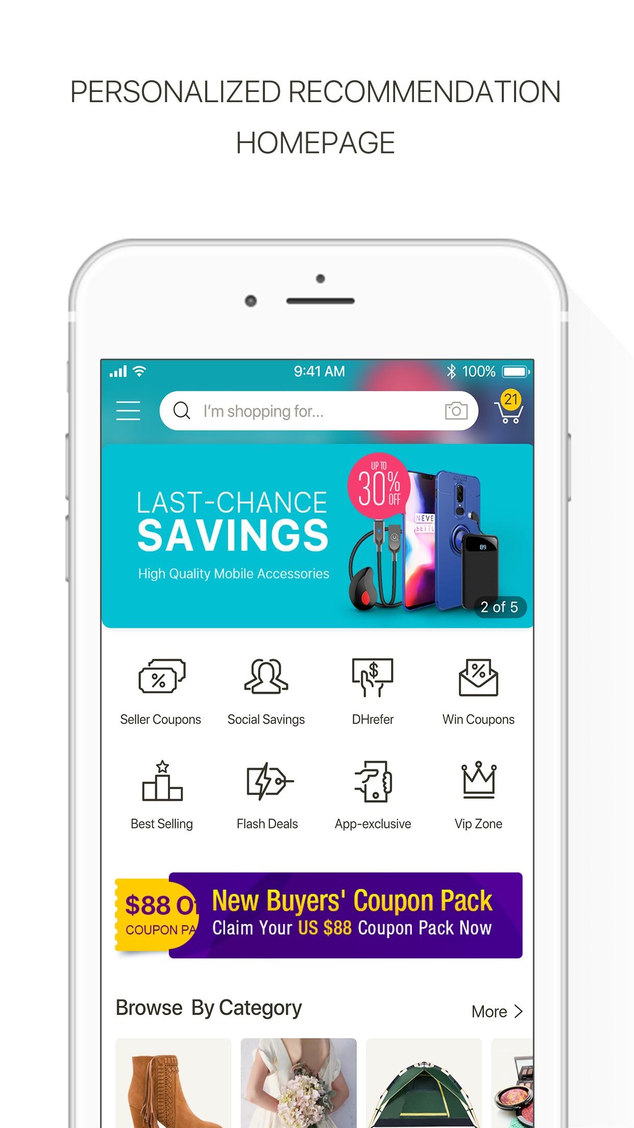 DHgate-Online Wholesale Stores Screenshot