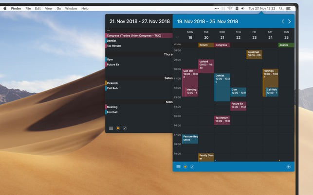 ‎Calendar 366 II Screenshot