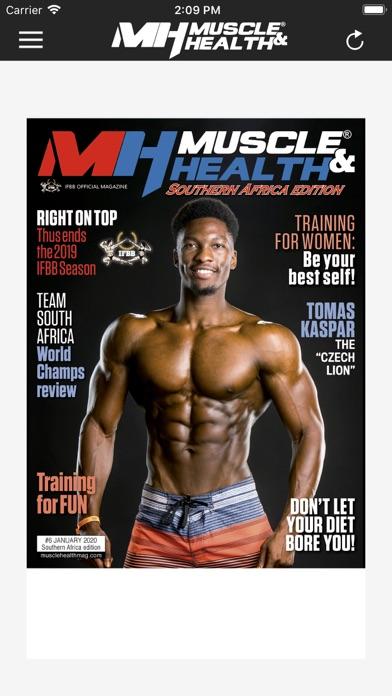 Muscle & Health SAScreenshot of 2