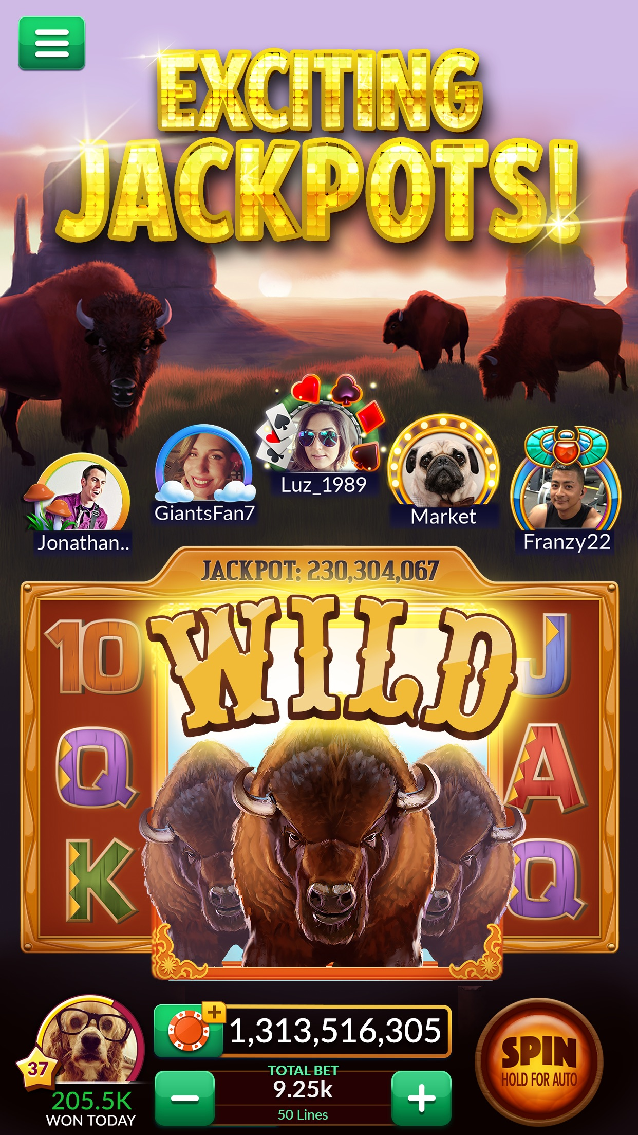 Big Fish Casino: Slots & Games Screenshot