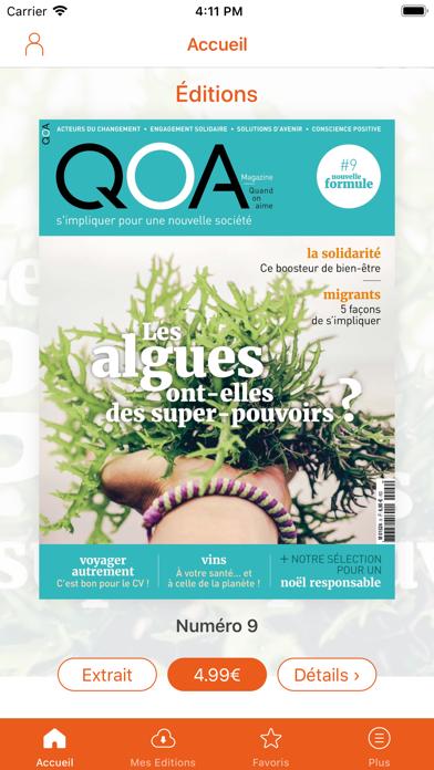 QOA Magazine screenshot one