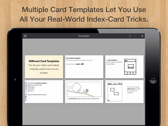 Screenshot #6 pour Cardflow: Index & Flash Cards