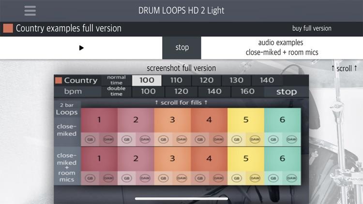 Drum Loops HD 2 Light screenshot-5