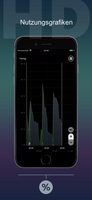 Zur App: Battery Life