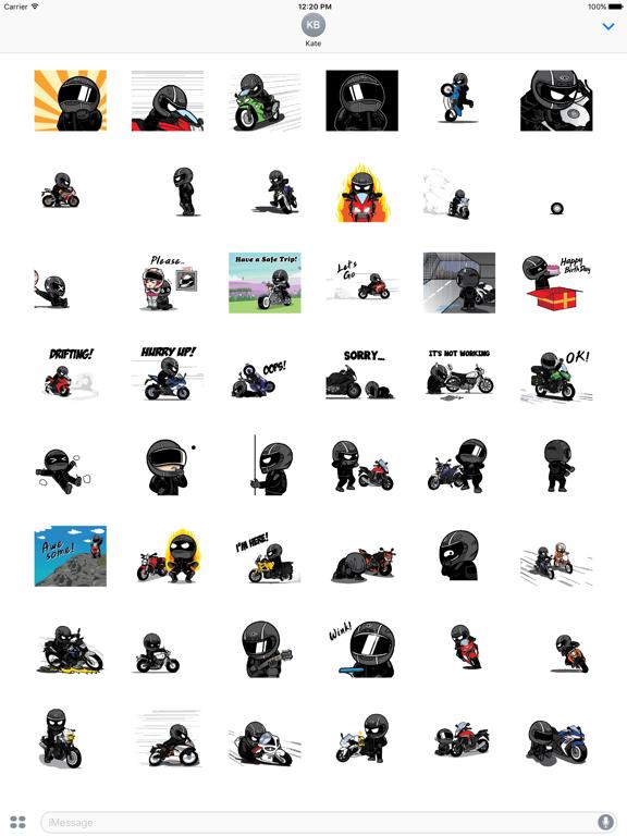 Animated Motorcycle Rider screenshot 6