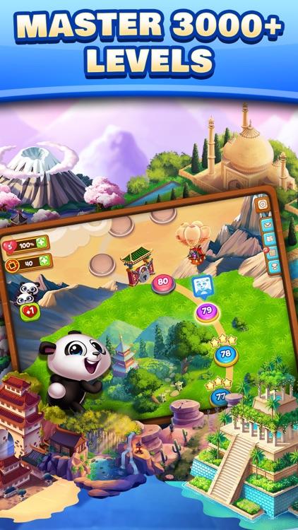 Panda Pop! Bubble Shooter Game screenshot-4