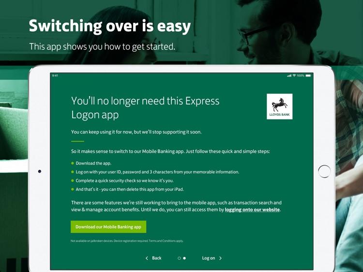 Lloyds Bank Express Logon