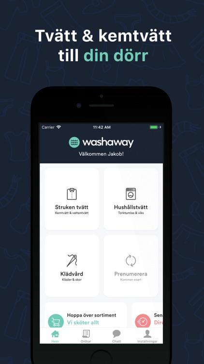 Washaway - tvätt & kemtvätt