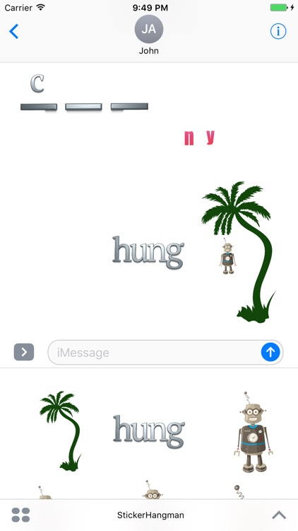 Sticker Hangman screenshot-4